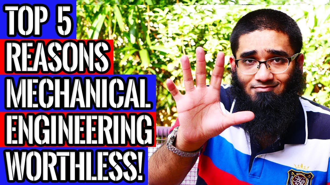 Top 5 Reasons Mechanical Engineering Degree is Worthless! [4K]