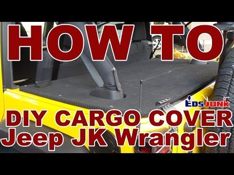DIY Rear Cargo Cover for Jeep Wrangler JK