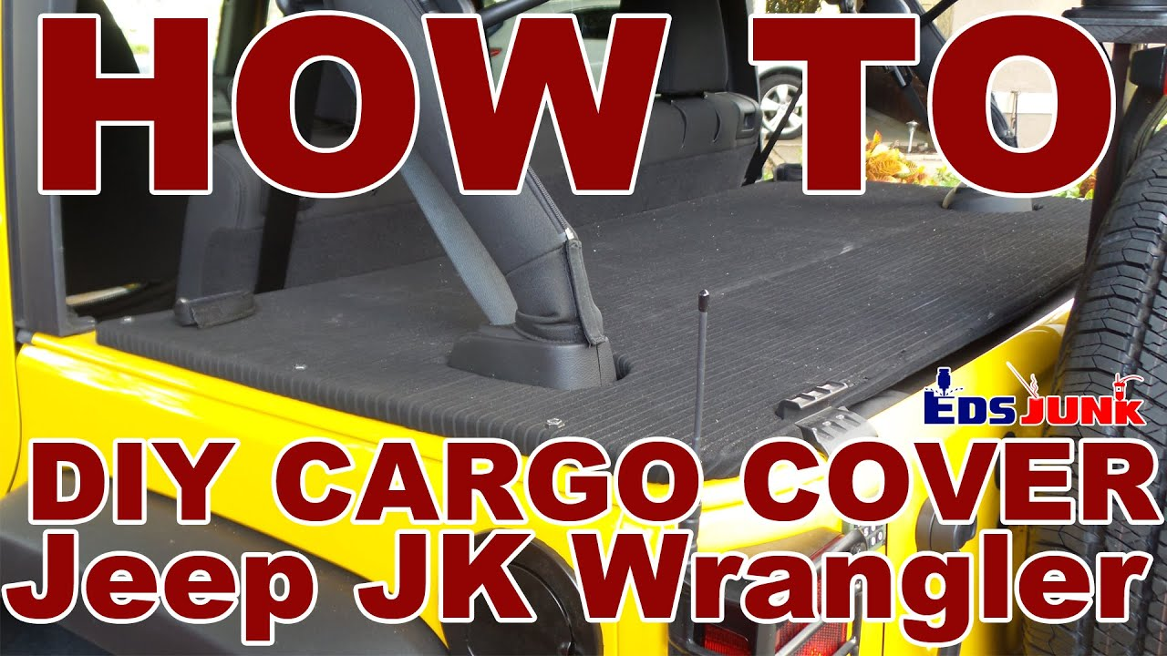 Diy Rear Cargo Cover For Jeep Wrangler Jk Youtube