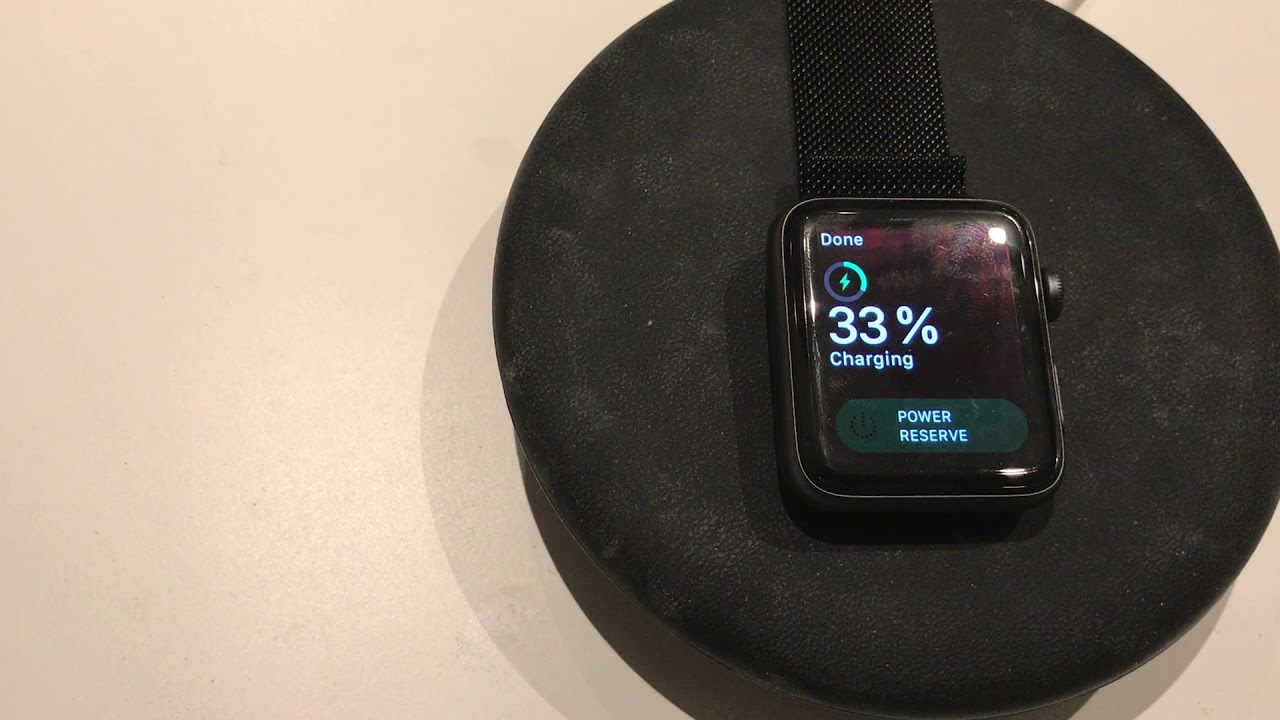 Apple Watch Qi Wireless Charging Experiment With Samsung Convertible Pad
