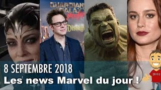 Quelques NEWS MARVEL sur CAPTAIN MARVEL, AVENGERS 4, etc !