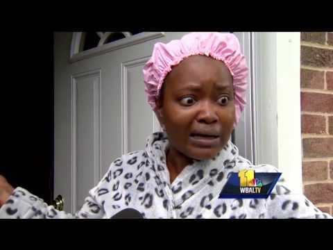 Video: Burglars broke in while people were home