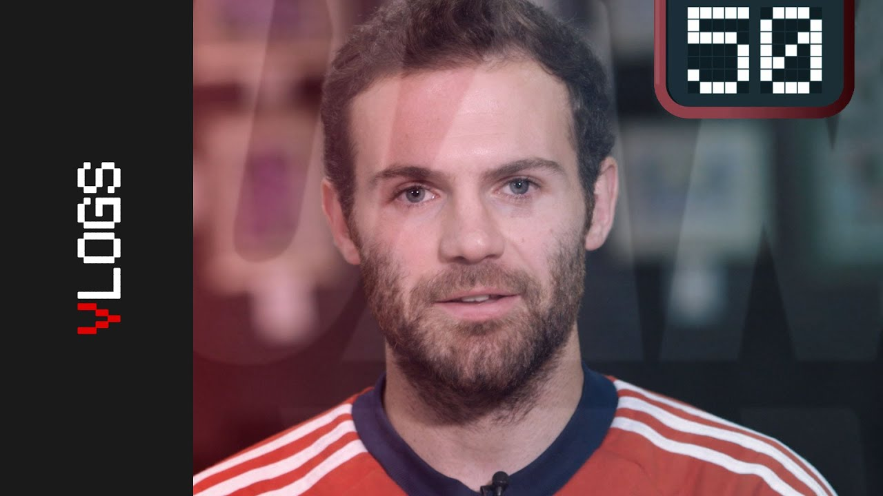 VIDEO: Manchester United's Juan Mata reveals '50 Things About Me' in three minutes