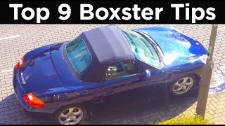 9 tips for owning a porsche boxster 986   road and race s02e05