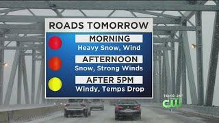 Wednesday Evening Weather Update: Snow To Blanket Philadelphia-Area