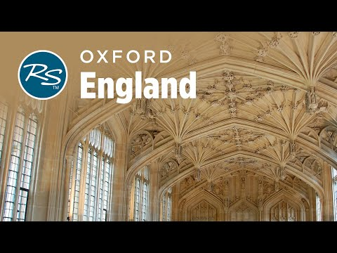 Oxford, England: Prestigious University