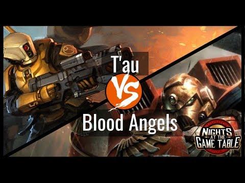 King Slayer: T'au Vs Blood Angels - Warhammer 40k Live Battle Report