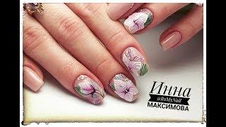 🌸 САМЫЙ ЦВЕТОЧНЫЙ дизайн 🌸 ЛЕТНИЙ дизайн ногтей 🌸 MEISTER Werk 🌸 Дизайн ногтей гель лаком 🌸