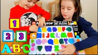 Learning Numbers Colors and Letters Kids Play Fun
