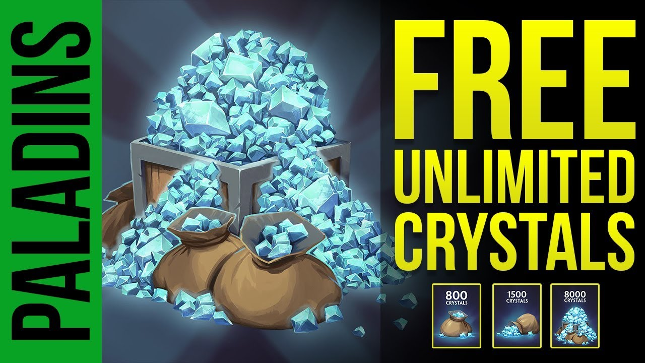 How to Get FREE UNLIMITED CRYSTALS for Paladins 2018 | Paladins PTS