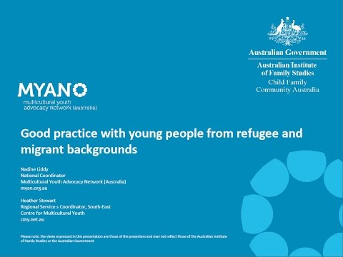 Webinar: Good practice when working with young people from refugee and migrant backgrounds