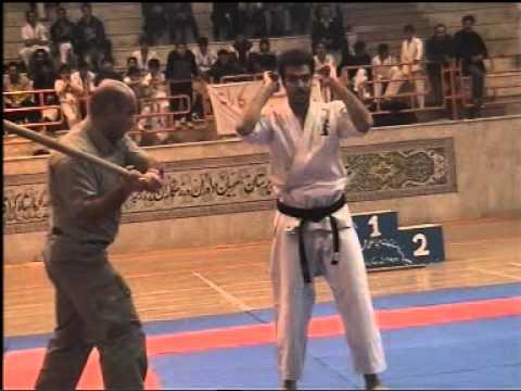 Sensei Amir Rostami ( Western Iranian Enshin Kai Karate branch cheif ).MPG