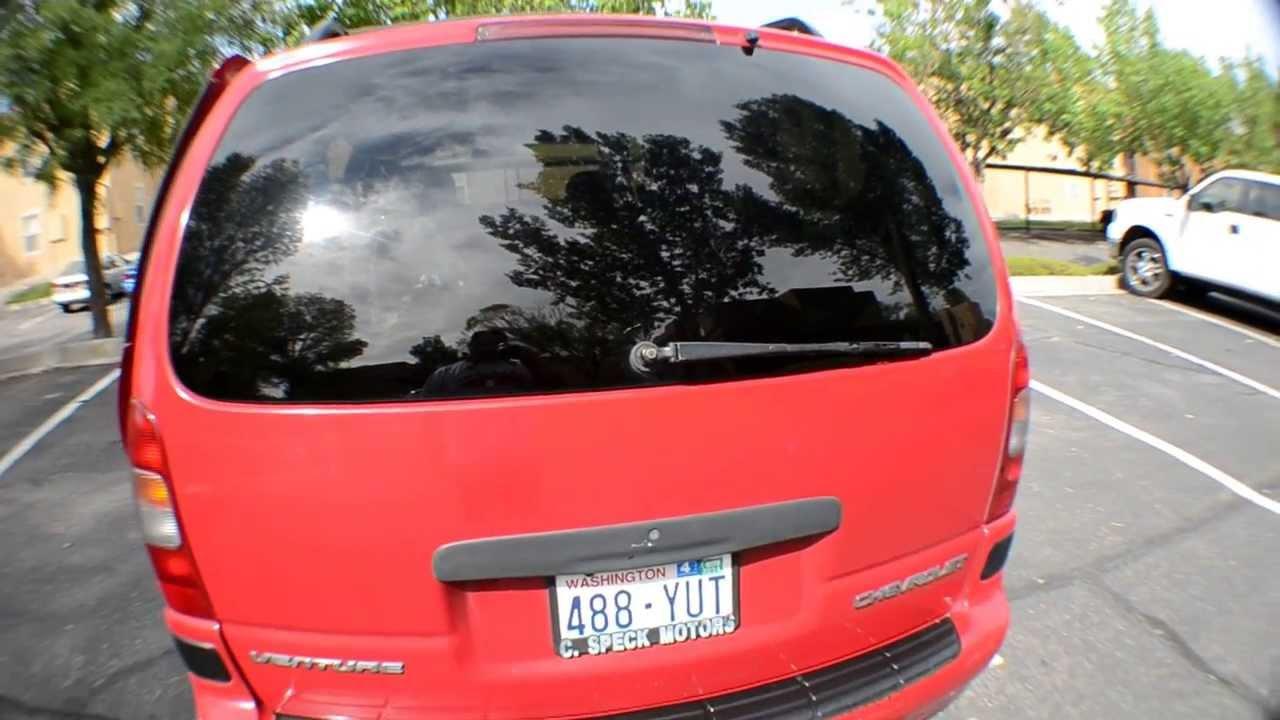 1998 chevy venture minivan [ 1280 x 720 Pixel ]