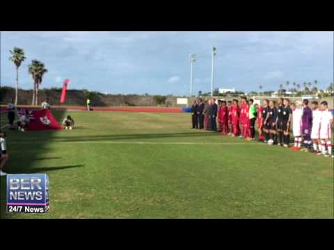 Canada vs Bermuda Football Pre Game January 22 2017