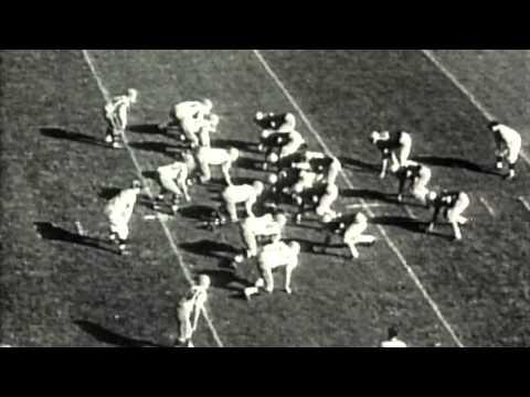 Throwback Thursday: Army Football vs Virginia 1958