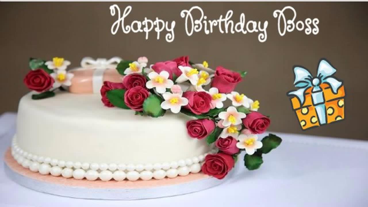 Happy Birthday Boss Image Wishes Youtube