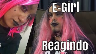 E-GIRL REAGINDO À - LILLY, A E GIRL (MAICON KÜSTER)