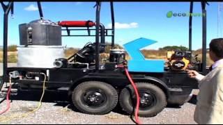 Plastic to oil refinery