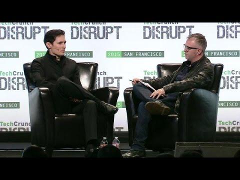 Pavel Durov on Why WhatsApp Sucks the Most