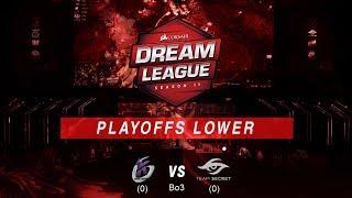 DreamLeague Season 11 | Major de  Estocolmo | Keen gaming vs Secret | Cast: Maverick & PawPaw