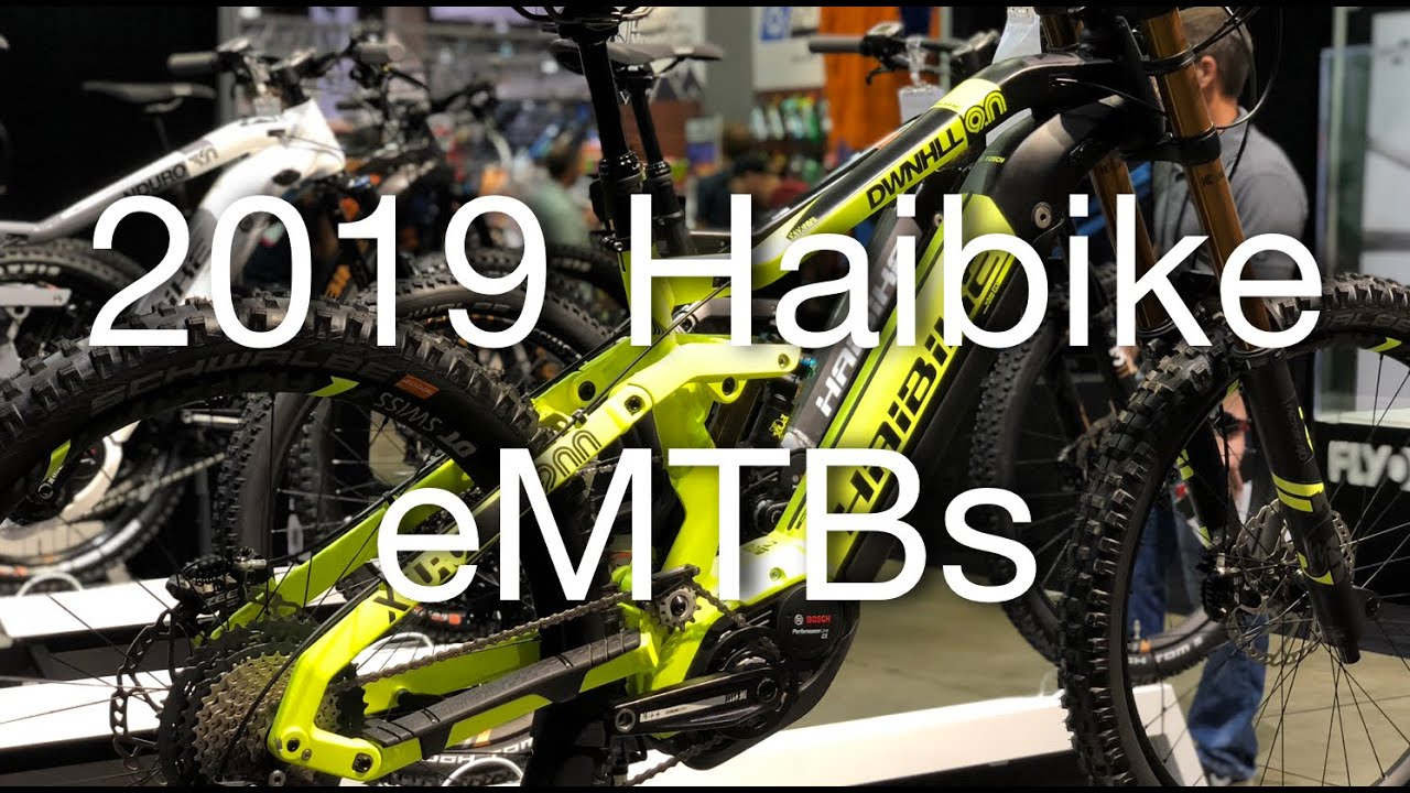 Best Electric Mountain Bike 2020 2019 Haibike Electric Mountain Bikes + 2020 Haibike Flyon eMTB