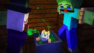 Zombie Life Minecraft Animation Youtube