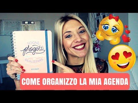 COME ORGANIZZO LA MIA AGENDA | AGENDA 2018 MR WONDERFUL 😍