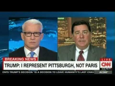 Mayor of Pittsburgh ref by Trump Not only bad for the economy of the US but also weakened America