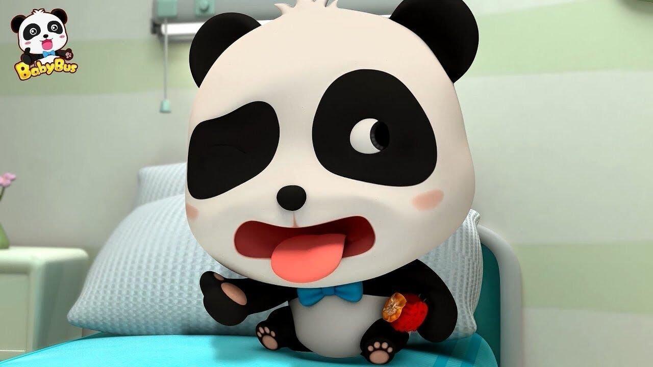 Ngày đi bệnh viện của Kiki | Gấu trúc Kiki&Miumiu | Hoạt hình Việt Nam | BabyBus