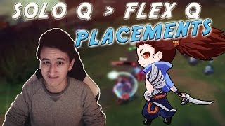 FlexQ SOLOQ PLACEMENTS  Lvl 1 zu Challenger in 30 Tagen  Highlights 4