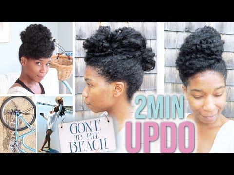 quick-2-minute-updo-|-natural-hair---naptural85