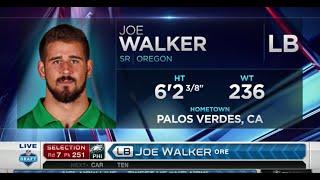 2016 NFL Draft Rd 7 Pk 251 | Philadelphia Eagles Select ILB Joe Walker