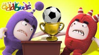 SUPER FAN  Cartoons For Children  The Oddbods Show