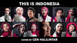 THIS IS INDONESIA - GEN HALILINTAR COVER | 11 KIDS + PARENTS