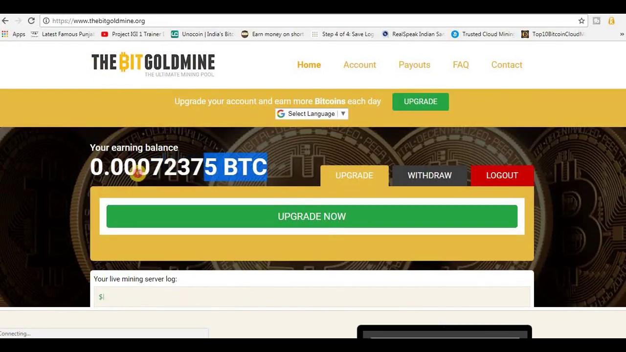 Withdraw bitcoin
