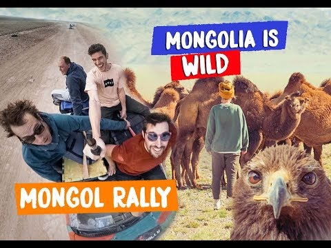 Our Journey through MONGOLIA! - THE MONGOL RALLY 2018