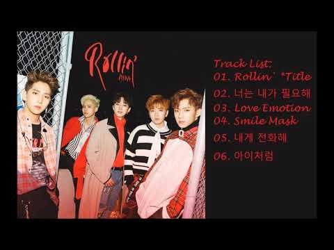B1A4 – Rollin`[Full Album]