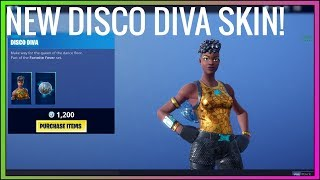 THIS SKIN IS GREAT! *NEW* DISCO DIVA SKIN! (NEW Season) Daily Item Shop - Fortnite Battle Royale!