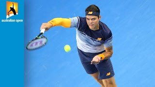 Top 5 singles trick shots | Australian Open 2016