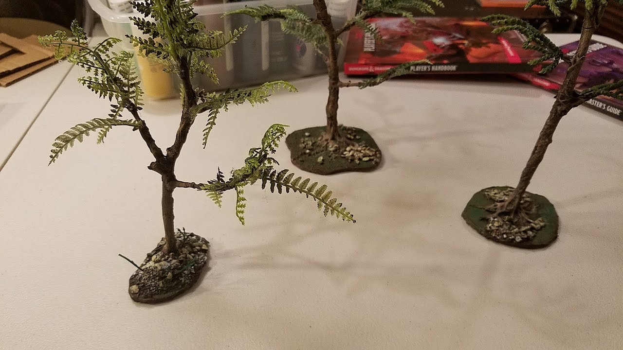 Superieur Crafting Trees From Real Twigs And Branches   Du0026D, Pathfinder, Tabletop RPG  Terrain   YouTube