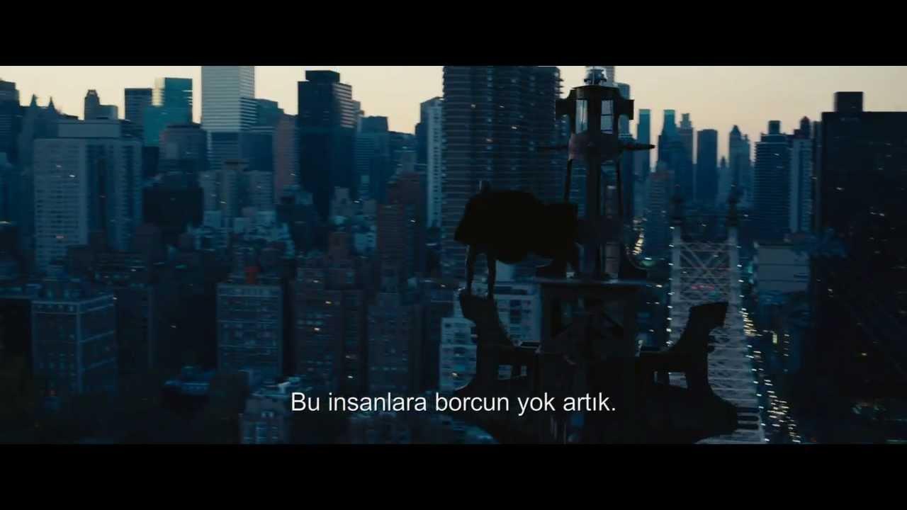 The Dark Knight Rises / Kara Şövalye Yükseliyor - Fragman (Türkçe Altyazılı)