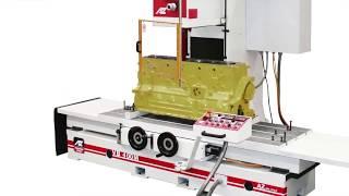 Обзор вертикально-расточного станка AZ VB400M для ремонта блоков цилиндров