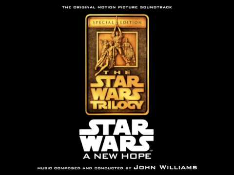 Star Wars: A New Hope Soundtrack - 09. Ben's Death/TIE Fighter Attack