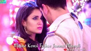 Whatsapp status video jeeti rahe saltanat Teri jeeti rahe aashiqi meri song||love song||