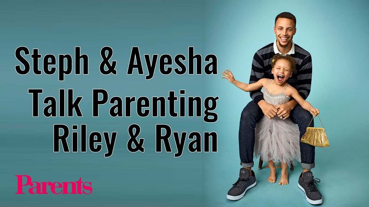 Stephen & Ayesha Curry Talk Parenting Riley and Ryan | Parents - YouTube