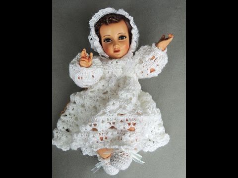 Crochet : Niño Jesus. Escarpines - YouTube