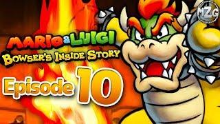 Mario & Luigi: Bowser's Inside Story Gameplay Walkthrough - Episode 10 - Toad Town Caves!