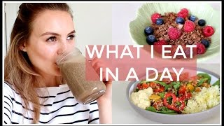 19. What I Eat In A Day | Niomi Smart
