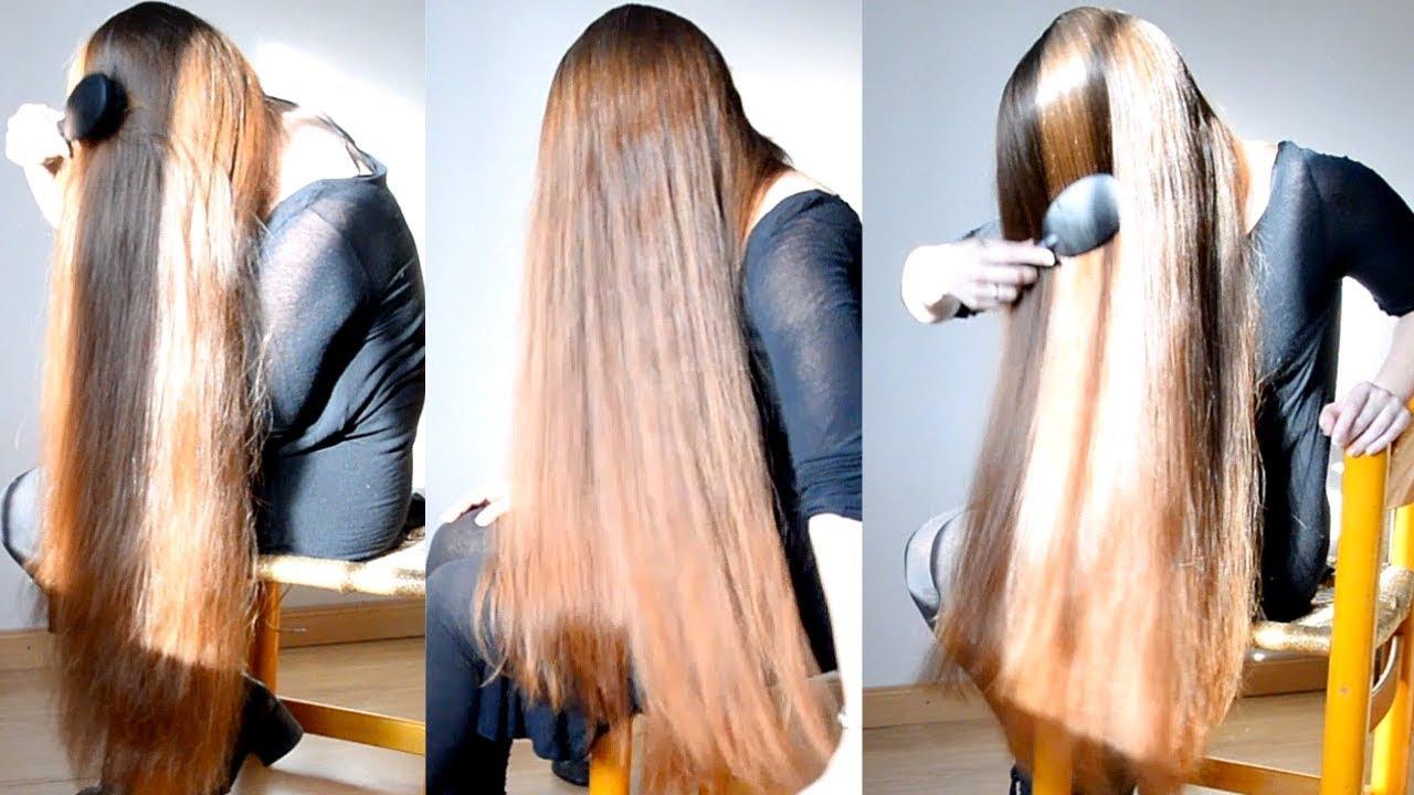 realrapunzels - thigh length hair