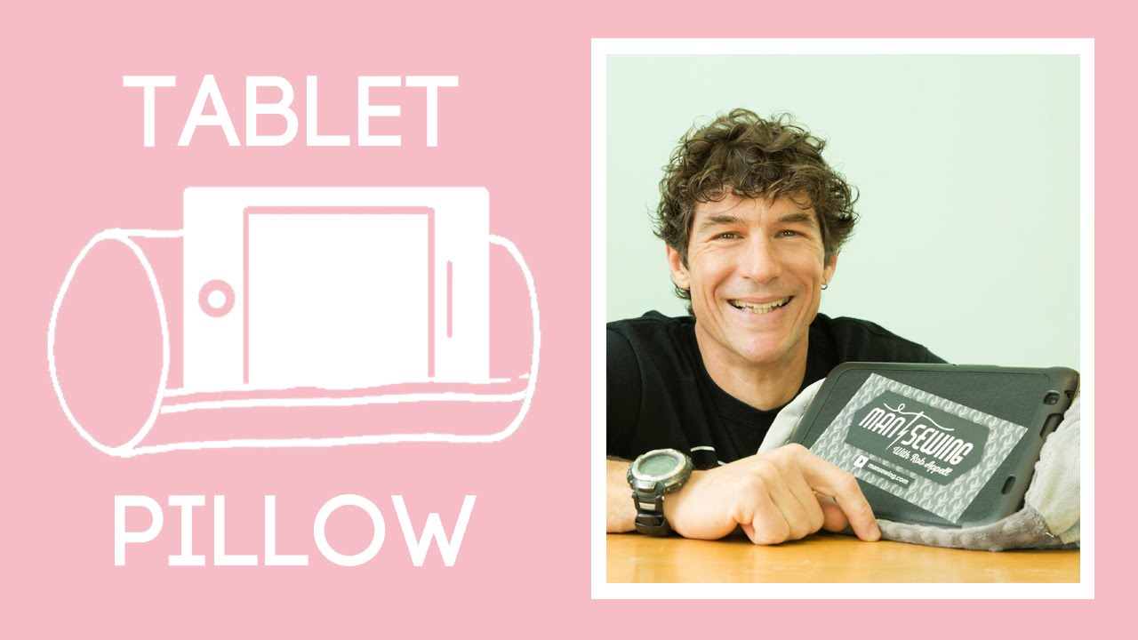 make the perfect tablet prop up pillow
